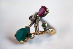 antykwarski pierścionek Zdjęcie Royalty Free