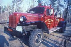 Antykwarski pożarniczy silnik, Obraz Royalty Free
