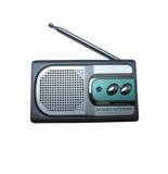 Antykwarski radio z roczników stylami Zdjęcia Royalty Free