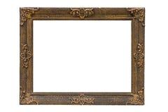 antykwarski ramowy drewniany Obrazy Stock