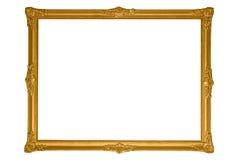 antykwarski ramowy złoto zdjęcie royalty free