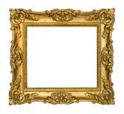 antykwarski ramowy złoto obraz stock