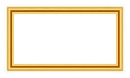 antykwarski ramowy złocisty stary Zdjęcie Stock