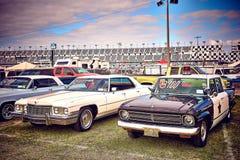 Antykwarski rocznik i starzy samochody obraz royalty free