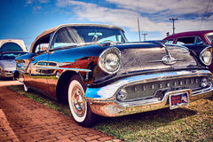 Antykwarski rocznik i starzy samochody fotografia royalty free