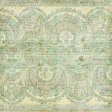 Antykwarski Rocznika Paisley hindusa tło Zdjęcia Royalty Free
