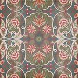 Antykwarski Rocznika Paisley hindusa tło Obrazy Stock