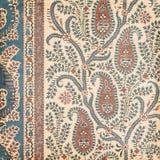 Antykwarski Rocznika Paisley hindusa tło Fotografia Royalty Free