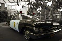 Antykwarski samochód policyjny Obrazy Stock