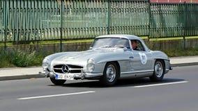 Antykwarski samochód, Sachsen klasyk 2014 Obrazy Royalty Free