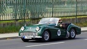 Antykwarski samochód, Sachsen klasyk 2014 Fotografia Royalty Free