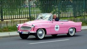 Antykwarski samochód, Sachsen klasyk 2014 Obrazy Stock