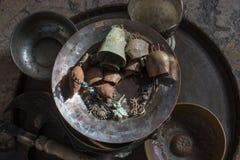 antykwarski starego stylu metalu retro dzwon obrazy royalty free