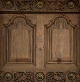 Antykwarski stary drzwi Fotografia Stock