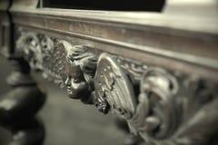 antykwarski stołowy drewniany Fotografia Stock