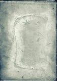 Antykwarski szklany talerz Obraz Stock