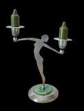 antykwarski sztuki candlestick nouveau Obrazy Royalty Free