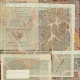 antykwarski tła papieru teksta rocznik Obraz Royalty Free