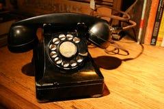 antykwarski telefon Obraz Stock