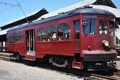 antykwarski tramwaj Fotografia Royalty Free
