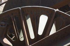 Antykwarski wieża wiertnicza szczegół Zdjęcia Stock
