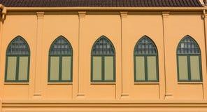 ANTYKWARSKI WINDOWS styl Zdjęcia Royalty Free