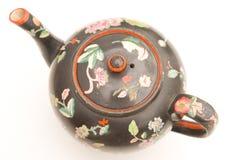 antykwarski wzorzysty teapot Obraz Stock
