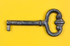 antykwarski zakończenie antykwarski klucz Obrazy Stock