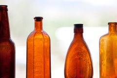 antykwarskie butelki Fotografia Royalty Free