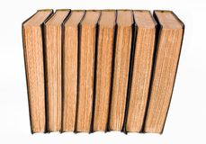 antykwarskie książki Zdjęcie Stock
