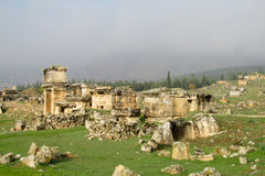 Antykwarskie miasto ruiny Zdjęcia Stock