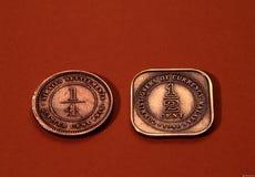 antykwarskie monety Zdjęcie Royalty Free