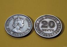 antykwarskie monety Zdjęcia Royalty Free