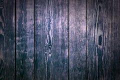 Antykwarskiego drewnianego panelu tła nocy ciemna rama Zdjęcia Stock