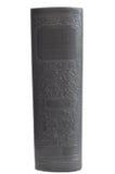 antykwarskiego książkowego hardcover odosobniony biel zdjęcie royalty free
