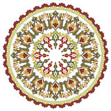 Antykwarskiego ottoman turecki deseniowy wektorowy projekt dwadzieścia cztery ilustracja wektor