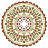 Antykwarskiego ottoman turecki deseniowy wektorowy projekt dwadzieścia cztery Zdjęcie Royalty Free