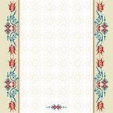 Antykwarskiego ottoman turecki deseniowy wektorowy projekt dziewięćdziesiąt trzy Obrazy Royalty Free