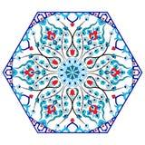 Antykwarskiego ottoman turecki deseniowy wektorowy projekt osiemdziesiąt pięć Zdjęcia Stock