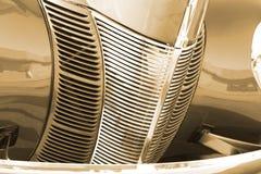 antykwarskiego samochodu grilla stary rocznik Obraz Royalty Free