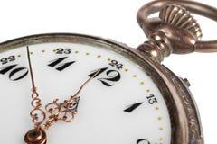 antykwarskiego zbliżenia kieszeniowy zegarek Obraz Royalty Free