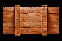 antykwarskiej czarny skrzynki odosobniony stary wysyłki drewno Fotografia Royalty Free