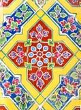 antykwarskiej grafiki ceramiczny kolorowy Fotografia Royalty Free