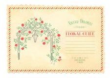 antykwarskiej pocztę collectible pocztówki z przedmiotem rocznik Zdjęcie Stock