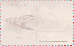 antykwarskiej pocztę collectible pocztówki z przedmiotem rocznik 10 tło projekta eps techniki wektor Capitals świat ilustracja wektor