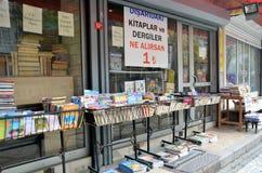 Antykwaryczna księgarnia w Istanbuł obrazy royalty free