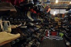 Antykwaryczny obuwie sklep Obrazy Royalty Free