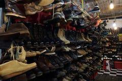 Antykwaryczny obuwie sklep Obraz Royalty Free