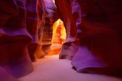 Antylopa jar Arizona na Navajo ziemi pobliskiej stronie obrazy royalty free