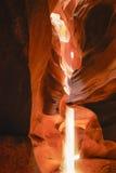Antylopa jar Arizona - strona - zdjęcia stock